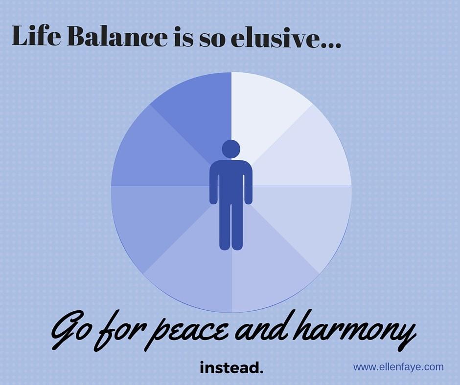 Improving Life Balance